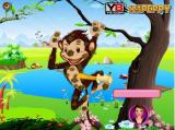Peppys Pet Caring-Zippy Monkey